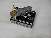 Защёлка врезная Armadillo LH120-45-25 межкомнатная защёлка, латунь, сатэн, жёлтый мат, AB, хром