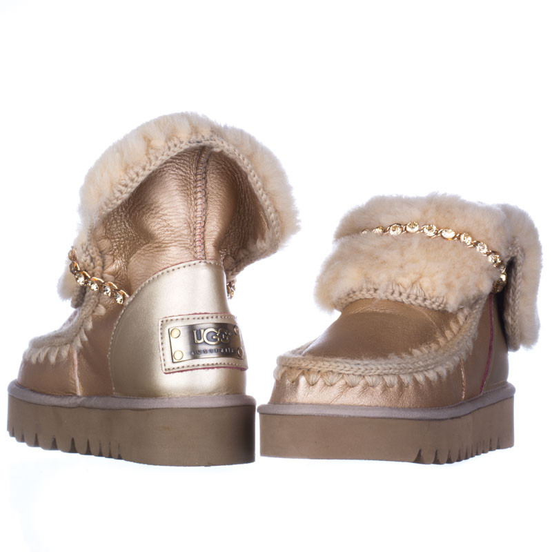 Женские угги UGG Mou be gold (36,40)