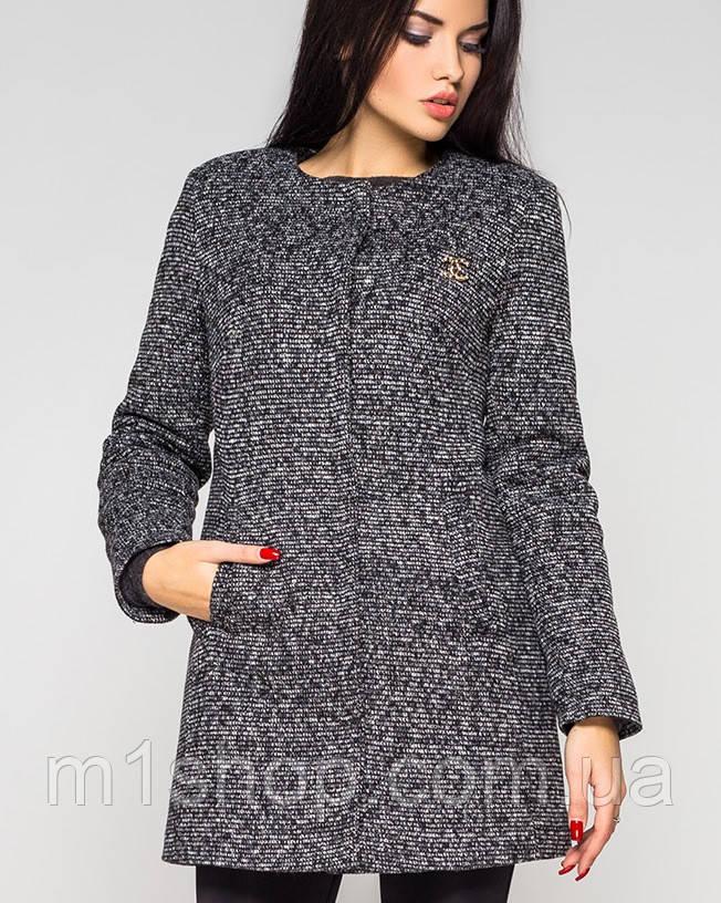 Утепленное женское пальто на кнопках (Кира зима leo) - « m1shop »женская одежда в Харькове