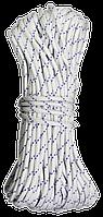 Шнур полипропиленовый d 5мм, 15м плетеный (Украина)
