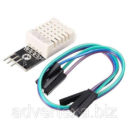 Модуль з цифровим датчиком DHT22/AM2302 температури і вологості підвищеної точності.