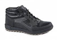 Зимние спортивные кожаные ботинки