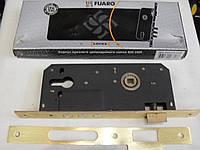 Врезной замок Fuaro 900 3MR WB для металлических и деревянных дверей, латунь и хром