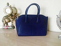 Стильная синяя сумка