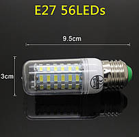 Лампа Epistar E27 кукуруза 20W  56 led