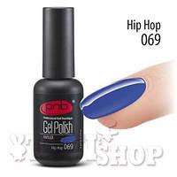 Гель-лак PNB №069 - Hip Hop - темно-лазурный, 8 мл