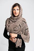 Тонкий, воздушный ажурный шарф