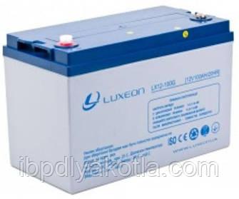 Спецификация гелевого аккумулятора Luxeon 12V, 100АЧ (модель LX12-100G)