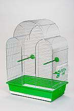 Клітка для птахів SONIA Inter zoo хром, 45*28*63 см