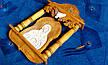 Икона резная в киоте ручной работы, фото 2