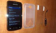 Samsung Galaxy S3 Mini i535 (Android 4  2сим-карты) + Чехол и стилус в подарок!