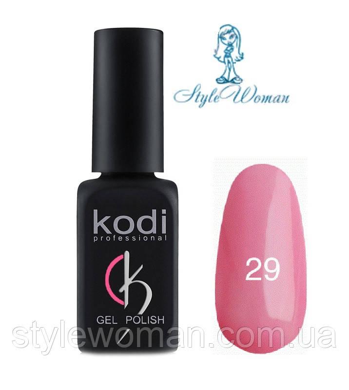 Kodi professional гель лак Коди 29 светло розовый перламутр 8мл