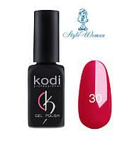 Kodi professional гель лак Коди 30 малиновый эмаль 8мл