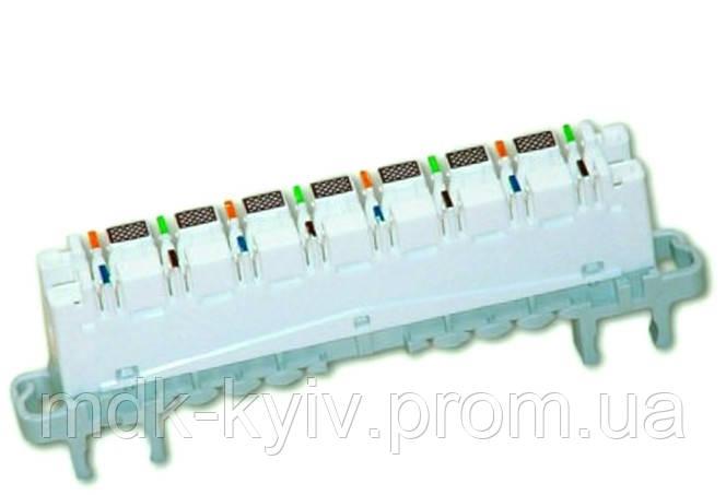 Плинт переключения HighBand 16х2 с нормально разомкнутыми контактами (6468 5 080-00) Cat.5e, универс.крепление