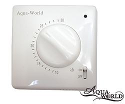 Термостат кімнатний електромеханічний AW