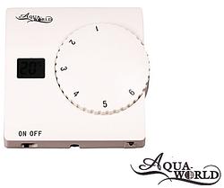 Термостат кімнатний AquaWorld AW816WHB-0-WIRE