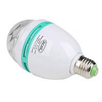 Диско лампа для вечеринок LED Mini Party Light, вращающаяся диско лампа