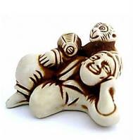 Нецкэ Актер с обезьянкой Символ путешествий