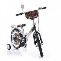 """Велосипед двухколёсный Azimut 14"""" Пираты Карибского моря 4646"""