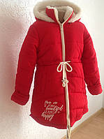 Зимние детские куртки парки для девочек