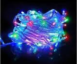 Гирлянда 230 светодиодов силиконовый шнур Мульти, фото 2
