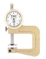 Толщиномер индикаторный ТР 0-10мм, точность 0,1мм, глубина 20мм, IDF