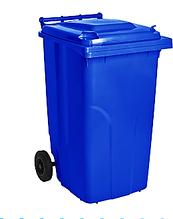 Бак для сміття на колесах 240 л Алеана, синій