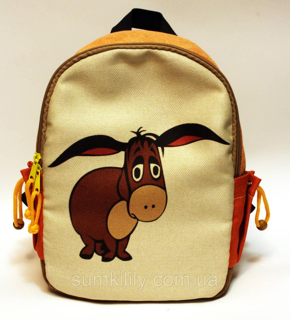 Дитячий рюкзак Ослик