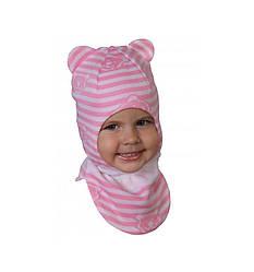 Шапка-шлем демисезонный на девочку