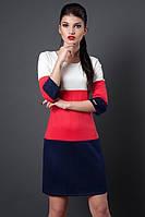 Молодежное женское платье, размеры 46, 48