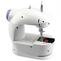 Мини швейная машинка Mini Sewing Machine 4в1, фото 3