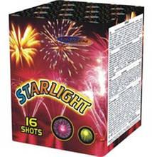 """Салют """"Starlight"""" 20 мм.16 выстр. Пиротехника и Фейерверки"""