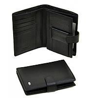 Мужской кошелек для документов Dr. Bond Classic из натуральной кожи. Портмоне.