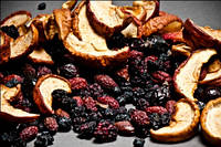 Фруктовая смесь(груша ,яблоко,слива,айва,шиповник,ежевика)0,5 кг