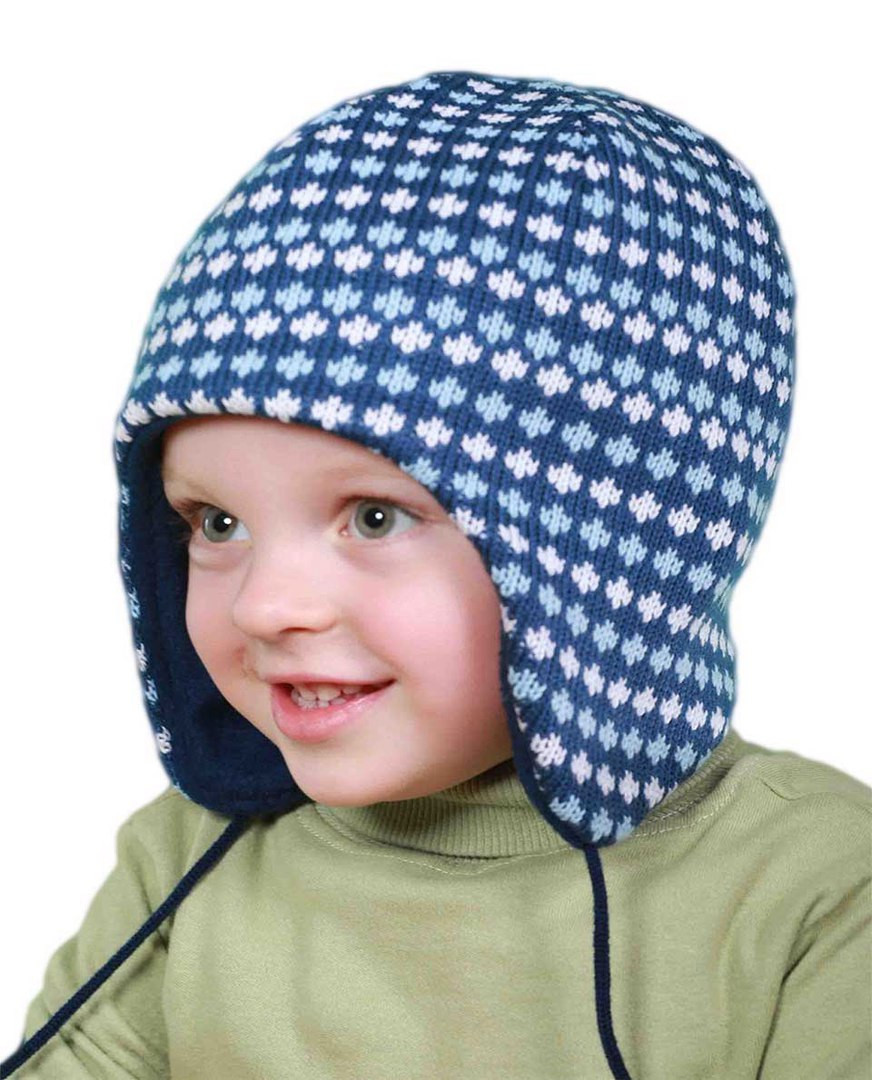 Зимняя шапка на мальчика обхват головы 50-52 см