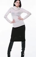 Однотонная теплая юбка (разная расцветка)