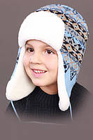 Зимняя шапка ушанка  обхват головы 52 -54 см
