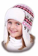 Зимняя шапка ушанка  обхват головы 52-54 см
