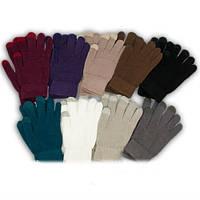 Детские  вязанные перчатки с эффектом TOUCH SCREEN