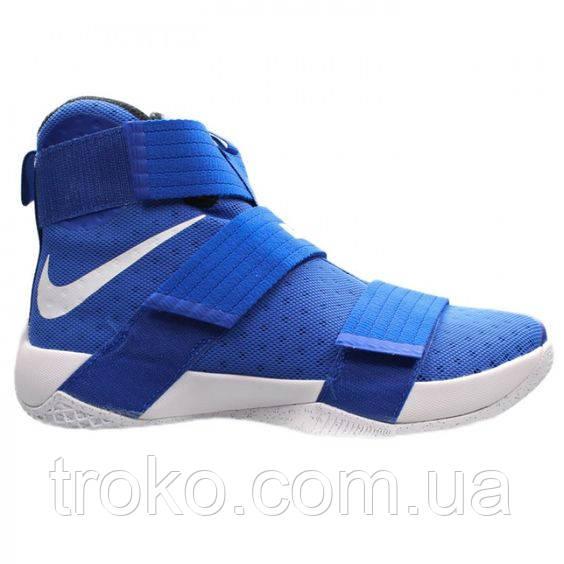 Баскетбольные Кроссовки Nike Lebron Soldier 10 Blue/White