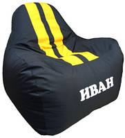 Безкаркасное кресло мешок Ferrari с именем