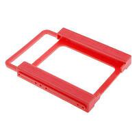 """Переходник для установки SSD или НDD 2.5"""" на 3.5, пластик, 13x10x1.4 см"""