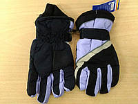 Детские  лыжные перчатки для девочку