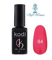 Kodi professional гель лак Коди 84 темно малиновый 8мл