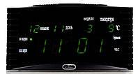 Настольные  часы LED Caixing CX 838 , электронные, календарь, термометр, будильник, для дома, настольные