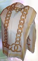 Платок натуральный шелк Chanel