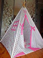 """Детский игровой домик, вигвам, палатка, шатер, шалаш """"Королева"""", фото 1"""