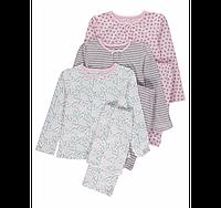 Трикотажные пижамы для девочек GEORGE Англия