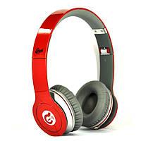 Наушники оригинальные SYLLABLE G05 стерео Hi-Fi складные с шумоизоляцией красные