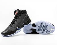 Баскетбольные кроссовки Nike Air Jordan XXX 30 Retro Black Cat, фото 1